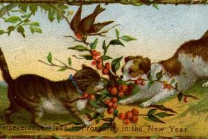 New Year's Wishes by Hulton Archive