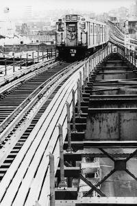 NYC Subway by Hulton Archive