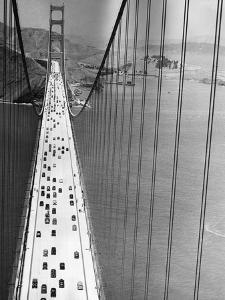 On the Golden Gate by Hulton Archive