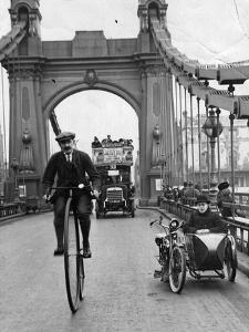Penny Farthing by Hulton Archive