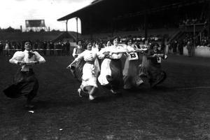Pie Race by Hulton Archive