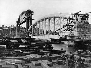Royal Albert Bridge by Hulton Archive