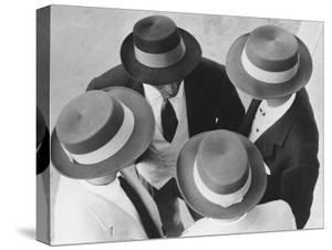 Italian Hats by Hulton Collection