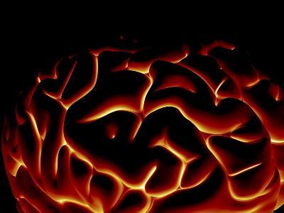 Human Brain, Artwork-PASIEKA-Photographic Print