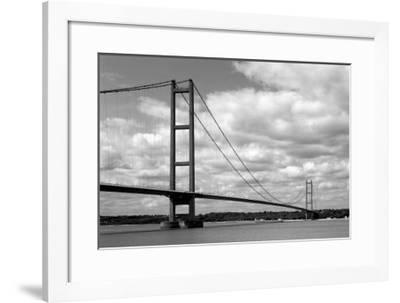 Humber Bridge II--Framed Giclee Print