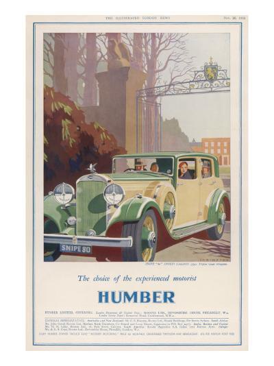 Humber Snipe '80'--Giclee Print