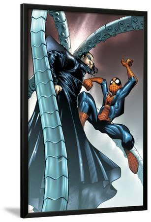 Spectacular Spider-Man No.10 Cover: Spider-Man and Doctor Octopus