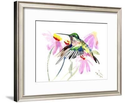 Hummingbird 2-Suren Nersisyan-Framed Art Print