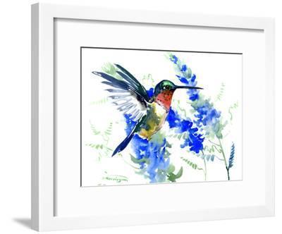 Hummingbird 6-Suren Nersisyan-Framed Art Print