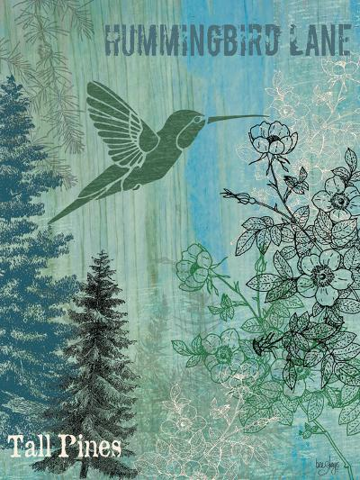 Hummingbird Lane-Bee Sturgis-Art Print