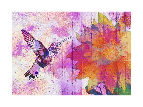 Hummingbird XVII-Fernando Palma-Giclee Print