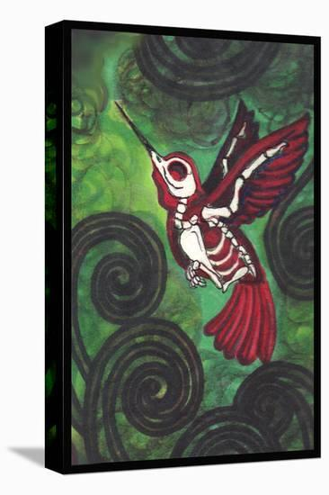 Hummingbird- Shayne of the Dead-Stretched Canvas Print