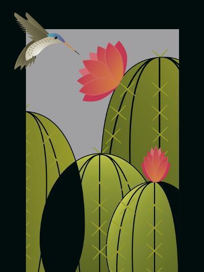 Hummingbird-Marie Sansone-Giclee Print