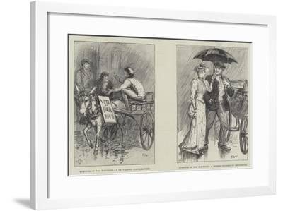 Humours of the Elections-Francis S. Walker-Framed Giclee Print