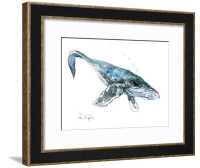Humpback Whale 2-Suren Nersisyan-Framed Art Print
