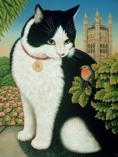 Humphrey, the Downing Street Cat, 1995-Frances Broomfield-Giclee Print