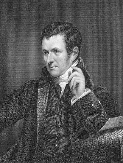 Humphry Davy, British Chemist, 19th Century-James Lonsdale-Giclee Print
