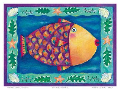 Humuhumunukunukuapua'a, Hawaii State Fish-Deybra Faire-Art Print