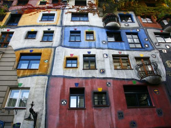 Hundertwasser House, Vienna, Austria, Europe-Levy Yadid-Photographic Print