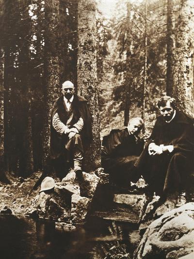 Hungary, Budapest, Bela Viktor Janos Bartok on His Journey around Transylvania--Giclee Print