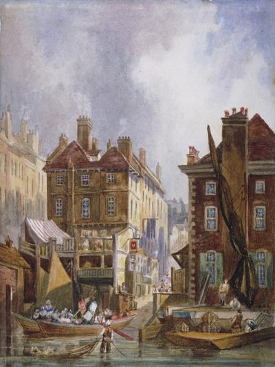 Hungerford Market, Westminster, London, C1810-George Shepheard-Giclee Print