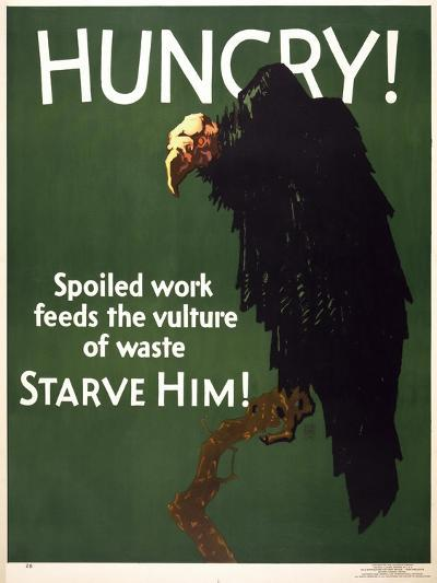 Hungry! Starve Him!--Giclee Print