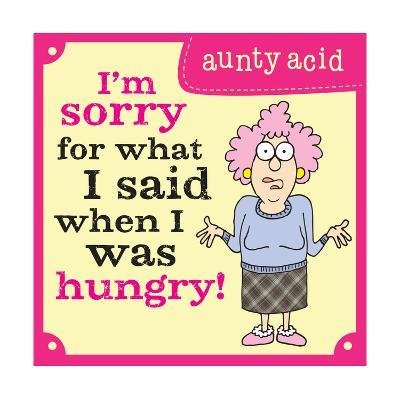 Hungry-Aunty Acid-Art Print