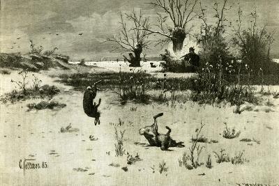 Hunt Austria 1891--Giclee Print