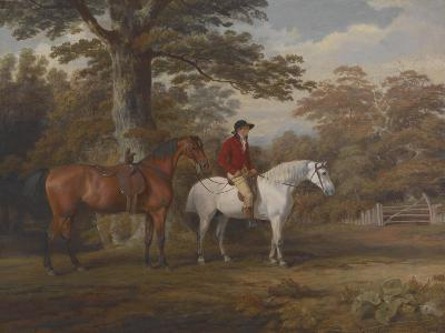 Hunter and Huntsman, 1780s-George Gerrard-Giclee Print