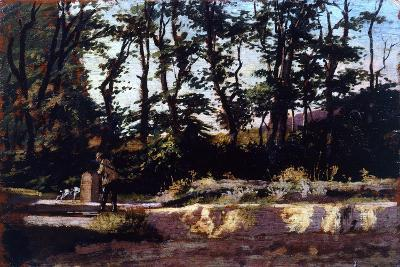 Hunter at Well, 1875-1880-Eugenio Cecconi-Giclee Print
