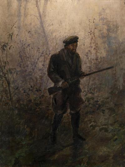 Hunter in the Forest-Ivan Pavlovich Pokhitonov-Giclee Print