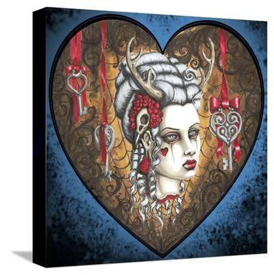 Hunter Kiss- Shayne of the Dead-Stretched Canvas Print