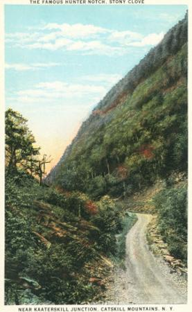 Hunter Notch, Stony Clove, Catskill Mountains