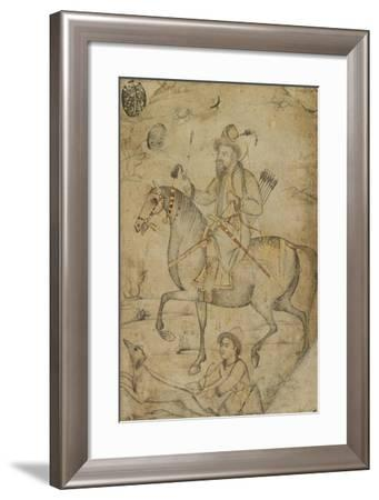 Hunter on a Horse, C.1600--Framed Giclee Print
