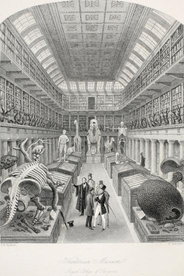Hunterian Museum-Thomas Hosmer Shepherd-Giclee Print