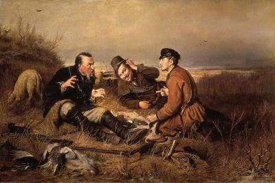 Hunters, 1871-Vasily Perov-Giclee Print