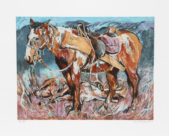 Hunters Horse-Everett Hibbard-Limited Edition