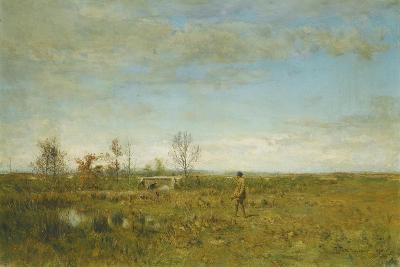 Hunters in Pont Long-Ivan Pavlovich Pokhitonov-Giclee Print