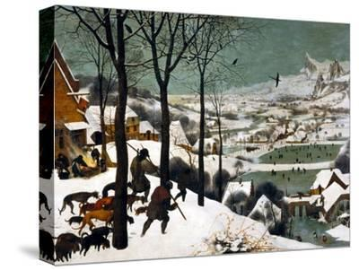 Hunters in the Snow (Winte), 1565-Pieter Bruegel the Elder-Stretched Canvas Print