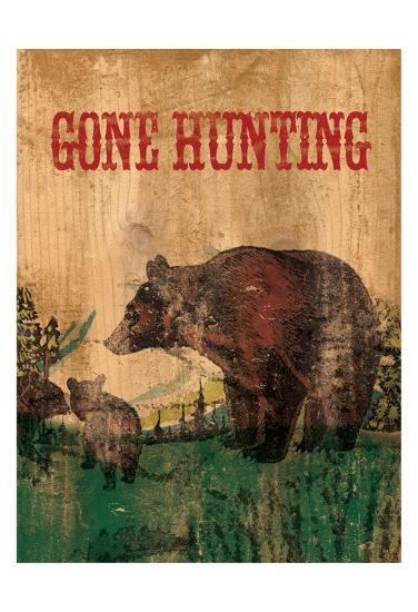 Hunting 1-Elizabeth Jordan-Art Print