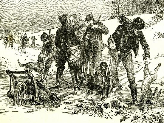 Hunting Austria 1891--Giclee Print