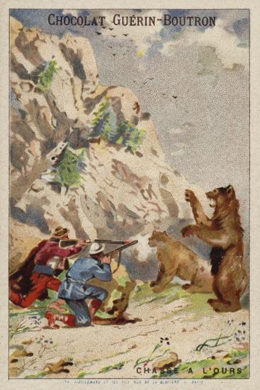 Hunting Bears--Giclee Print