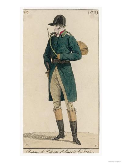 Hunting Dress 1813--Giclee Print