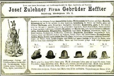 Hunting Hats Austria 1891--Giclee Print