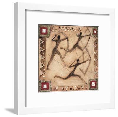 Hunting III-Jan Eelse Noordhuis-Framed Art Print