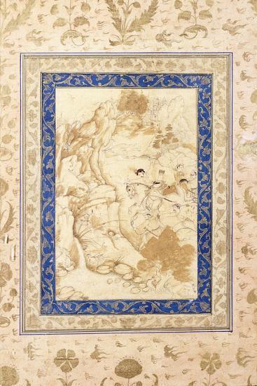 Hunting Scene, C. 1660-80--Giclee Print
