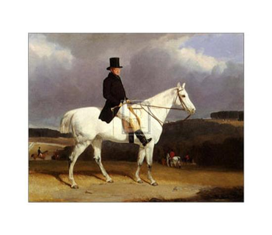 Hunting Scene in the Counties-Abraham Cooper-Art Print