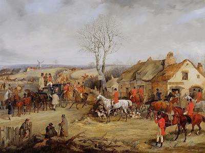 Hunting Scene, the Meet-Henry Thomas Alken-Giclee Print