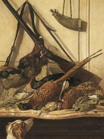 Hunting Trophies-Claude Monet-Art Print