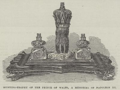 Hunting-Trophy of the Prince of Wales, a Memorial of Napoleon Iii--Giclee Print